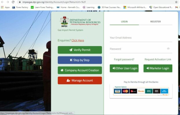 OBTAINING YOUR DPR PERMIT ONLINE: NEW PROCESS